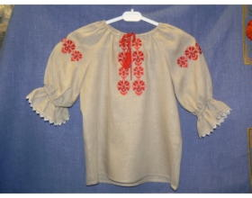 Детская национальная блуза
