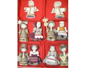 Набор сувенирных кукол