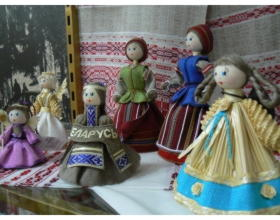 Куклы сувенирные