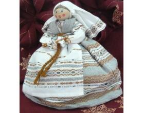 Кукла-грелка сувенирная