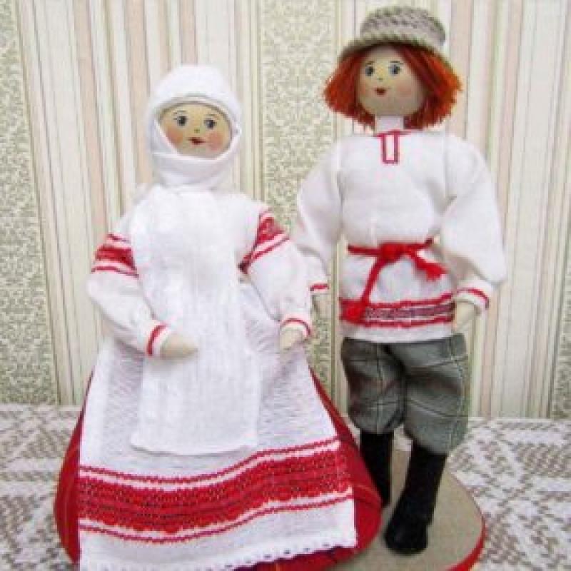 Куклы сувенирные P011