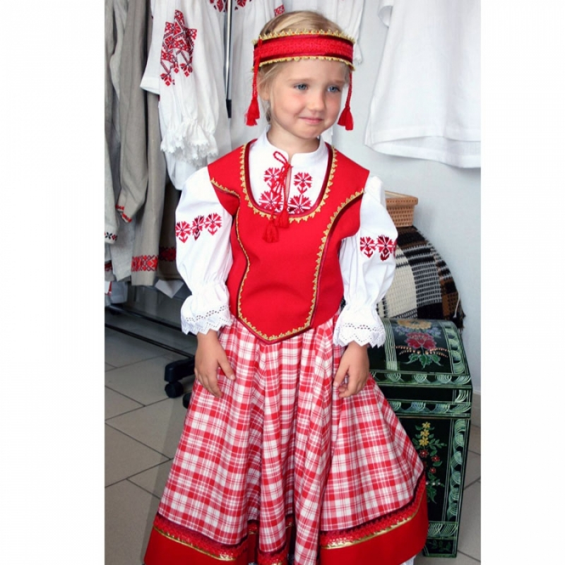 Детский народный костюм SC024