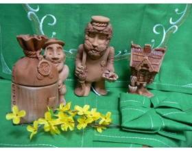 Сувенир из керамики