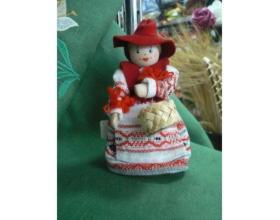 Кукла сувенирная декоративная Красная Шапочка