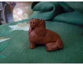 Сувенир керамический Собачка