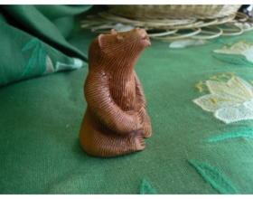Сувенир керамический Медведь