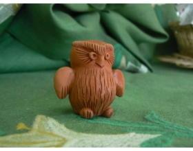 Сувенир керамический Сова
