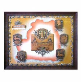 Картина керамическая