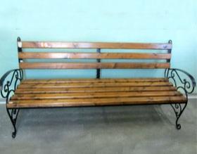 Кованая скамейка 17с25к