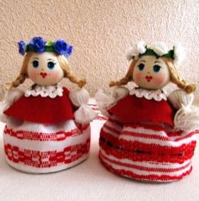 Куклы сувенирные P012