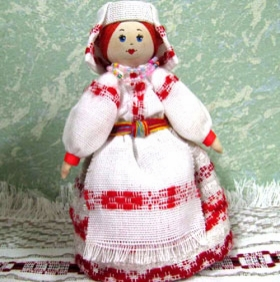 Кукла сувенирная P015