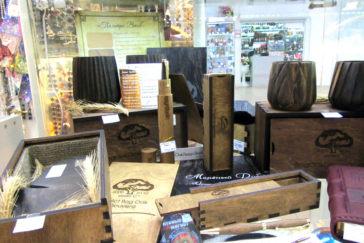 Эксклюзивные сувениры из Мореного Дуба
