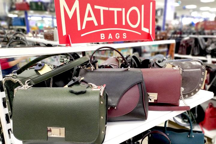 Осенне-зимняя коллекция женских сумок MATTIOLI