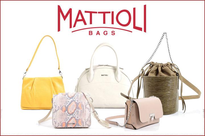 Летняя коллекция женских сумок MATTIOLI
