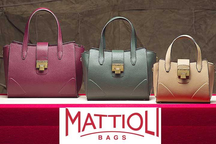 Новая коллекция женских сумок MATTIOLI