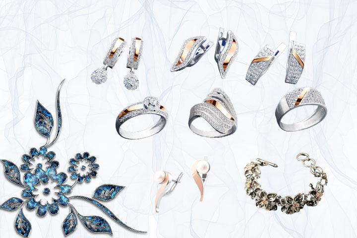 до -35% на ювелирные изделия из серебра